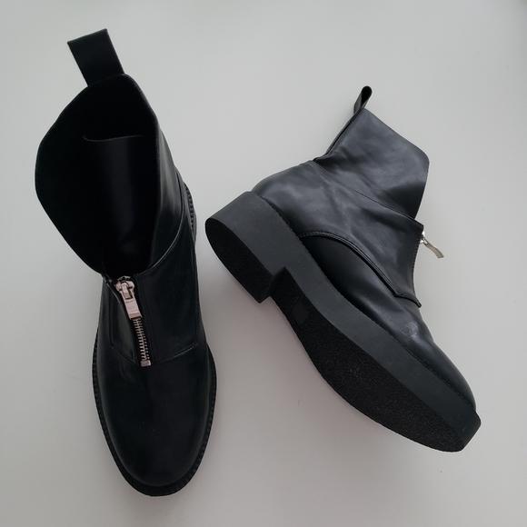 BLACK SUEDE STUDIO boots